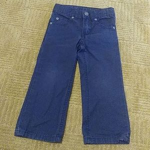 Carters blue jean style pants